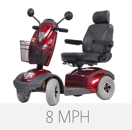 8 mph scooters